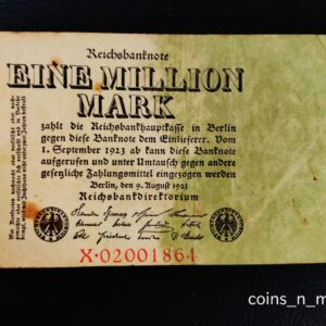 Germany Banknote [1923] 1,000,000 marks