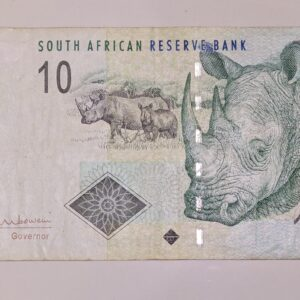 10 Rand South Africa Banknote