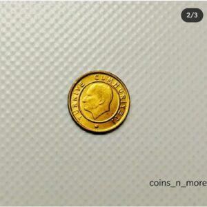 Turkey 1 Kurus Coin