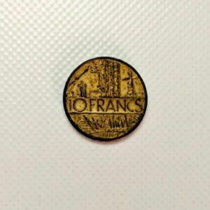 10 Francs coin