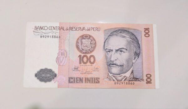 Peru banknote for sale