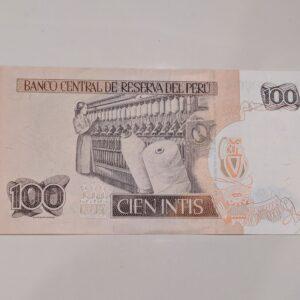 100 Ceinints Peru banknote