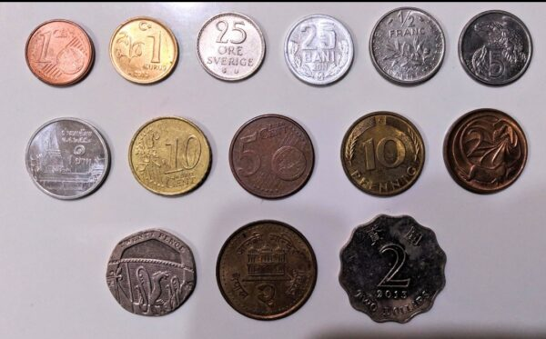 World coins on sale