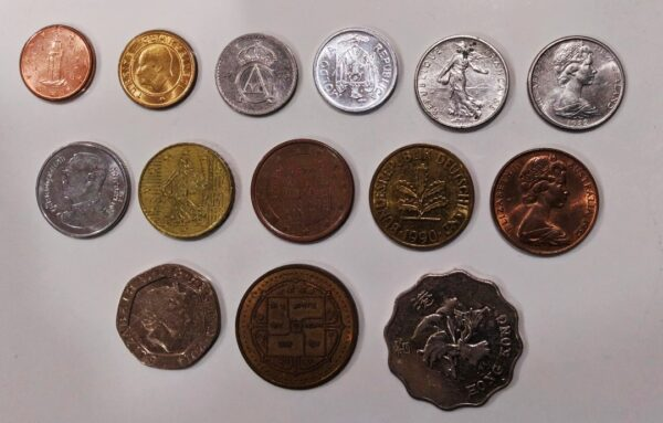 Foreign coins price in India