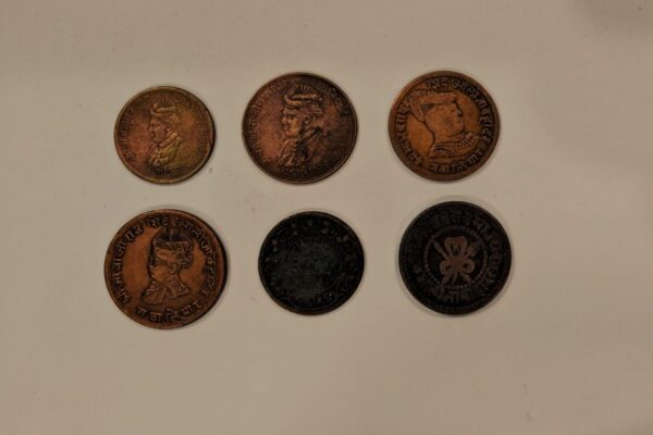 ancient coins Gwalior state