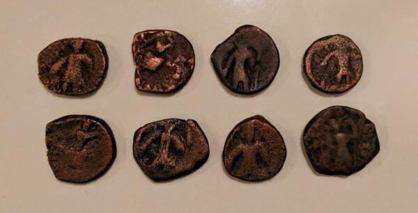 Kushan Dynasty coin