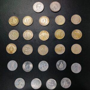 1 Rupee Commemorative coins set