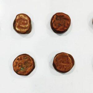 8 Mughal Dam coin lot