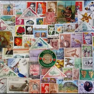 Collectible Set of 100 different stamps
