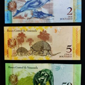 Venezuela Set of 3 UNC Banknote
