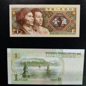 2 Banknotes of China