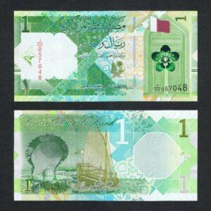 Qatar 1 Riyal Banknote