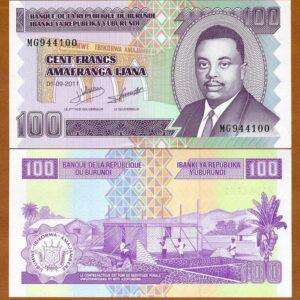 Burundi 100 Francs