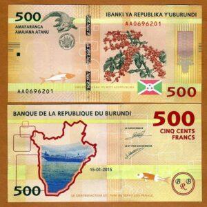 Burundi 500 Francs