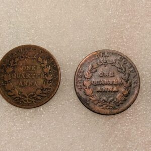 One Quarter Anna East India Company