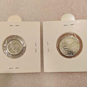 Set of 2 coins of Czech Republic