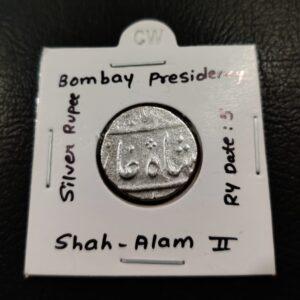 Bombay Presidency Shah Alam II RY 05