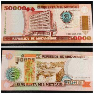 Mozambique 50000 Meticais Banknote