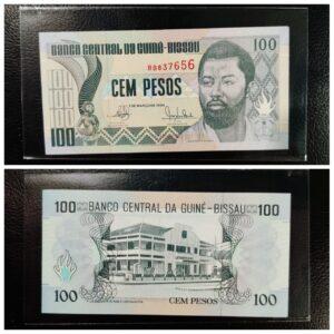 Guniea Bissu 100 pesos Banknote