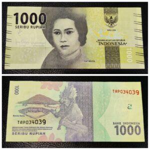 Indonesia Banknote 1000 Rupiah UNC