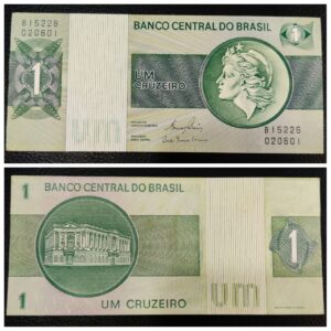 Brasil Banknote Collectible Note in UNC Condition