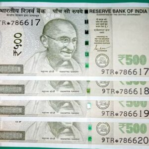 500 Super fancy * and 786 Note