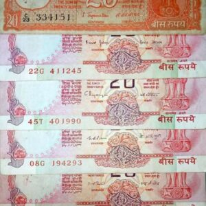 20 Rupees 6 different governor set