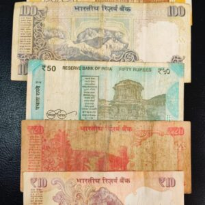 """Holy Number """"786"""" Set of 5 Banknotes"""