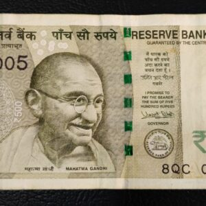 """500 Rupees Fancy Number """"000005"""""""