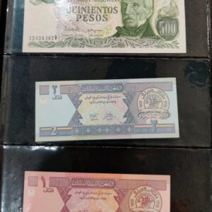 100 Different foreign currency album