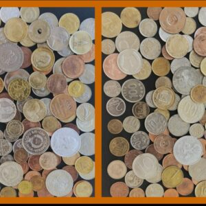 100 DIFFERENT FOREIGN COIN COLLECTION