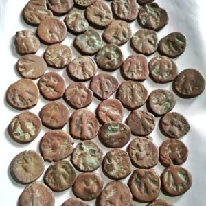 Later Kushan Coins Natural Condition
